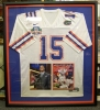 Signed Tim Tebow Jersey w/photos